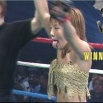 Japanese-MMA-Queen-Hisae-Watanabe-tongue-2